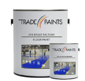 2 Pack Epoxy Factory Floor Paint | paints4trade.com